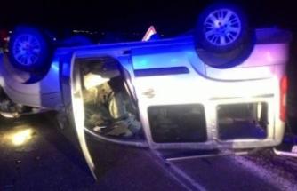 AK Parti'liler kaza yaptı: 9 yaralı