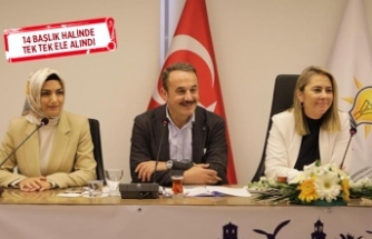 AK Partili kadınlardan 'Kadın ve Çevre' raporu