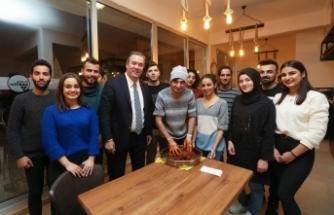 Başkan Piriştina, gençlerle buluştu