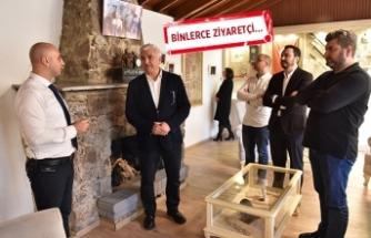 Bornova'da 'Ata Anı Evi'ne büyük ilgi