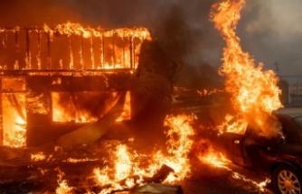 California'da yangının bilançosu ağırlaşıyor!