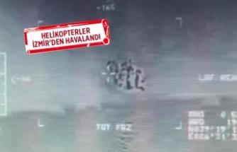 Ege Denizi'nde 'göçmen kurtarma' operasyonu!