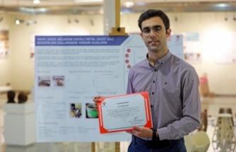 Genç akademisyen Türkiye birincisi