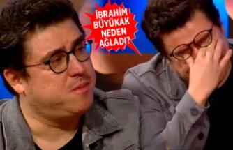 İbrahim Büyükak gözyaşlarını tutamadı!