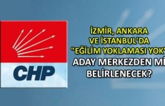 """İzmir, Ankara ve İstanbul'da """"eğilim yoklaması yok"""""""