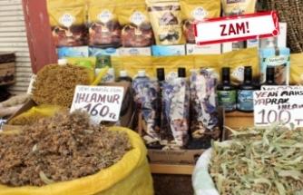 İzmir'de kış çaylarının fiyatı yükseldi