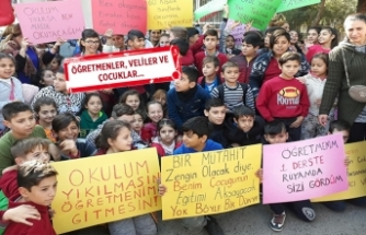 İzmir'de 'okul' eylemi!