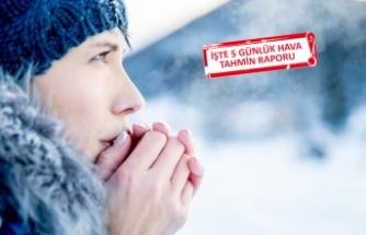 İzmir'e kış geldi: Soğuk ve yağış kapıda!