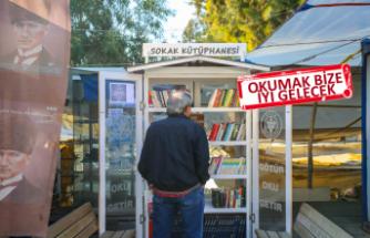 Sokak Kütüphanesi Bucalılar tarafından çok sevildi