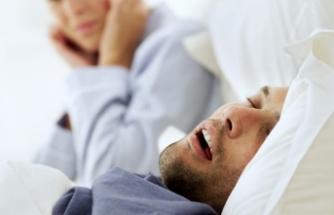Tedavi edilmeyen uyku apnesi kronikleşebiliyor