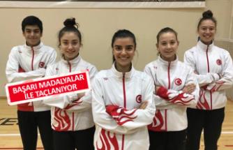 Bergama Badminton'da milli gurur