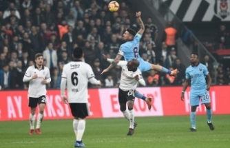 Beşiktaş: 2- Trabzonspor: 2