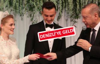 Cumhurbaşkanı Erdoğan Zeybekci'nin şahidi oldu