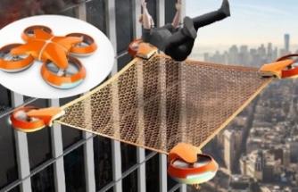 Hayat kurtaran drone!