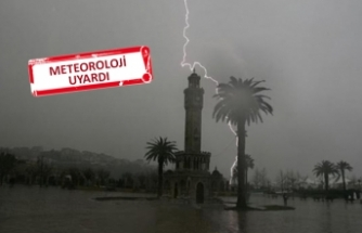 İzmir'e yağmur geliyor