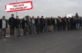 İzmir- İstanbul Otoyolu'nda 'arazi' isyanı