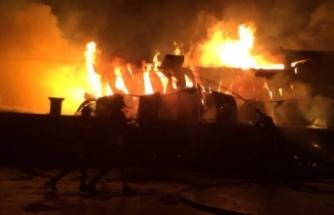 Düzce'de yangın faciası!