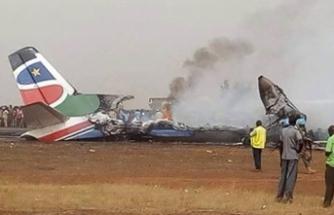 Sudan'da uçak kazası! Hükümet yetkilileri de uçaktaydı