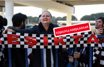 Beşiktaş İzmir'e geldi