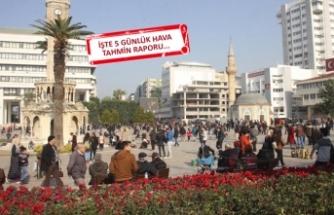İzmir'de hava bugünden itibaren...