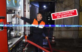 İzmir'de otelde korkutan yangın
