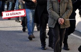 İzmir'de 'terör' operasyonu