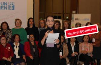 Kadın adaylardan cinsiyet eşitliği çağrısı