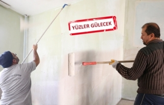Karşıyaka'da boya, bakım, onarım zamanı