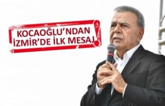 Kocaoğlu'ndan İzmir'de ilk açıklama: 5 yıl daha geceli gündüzlü...