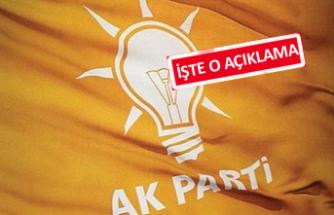 Kocaoğlu'nun çıkışına AK Parti'den flaş tepki