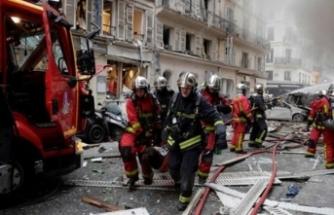 Paris'te patlama: Çok sayıda yaralı var