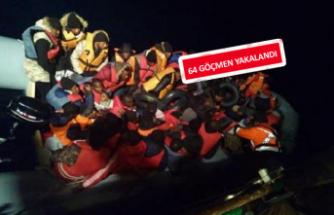 Seferihisar'da kaçak göçmen operasyonu