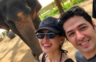 Ünlü çift Phuket'te! Filleri yıkayıp, temizledik...