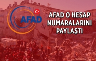 AFAD, depremzedelere yardım etmek isteyenler için duyurdu