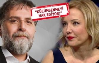Ahmet Hakan'dan Berna Laçin'e gönderme!
