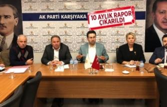 AK Parti Karşıyaka, CHP'ye raporla gidecek