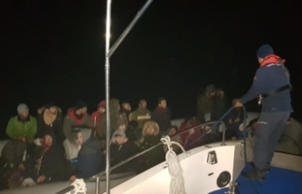 Aydın'da 46 göçmen yakalandı