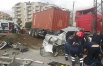 Aydın'da feci kaza: 5 yaralı