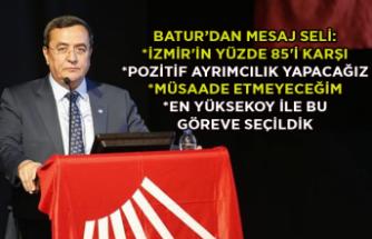 Başkan Batur'dan mesaj seli: Kentin estetiğine ihanet ettirmem