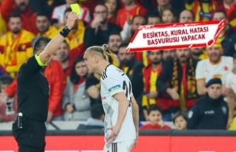 Beşiktaş, kural hatası iddiasıyla başvuru yapacak