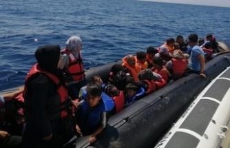 Bir haftada 1471 düzensiz göçmen yakalandı