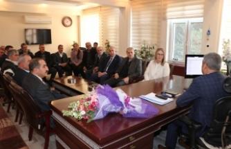 Bölünmez Çankırı'dan Mustafa Özen'e ziyaret