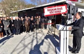 Bornova'nın ilk taziye evi Kavaklıdere'de açıldı