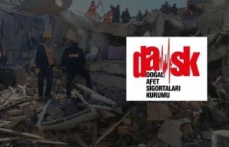 DASK'tan deprem açıklaması: 750 yakın ihbar aldık
