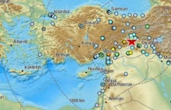 Elazığ'daki deprem 6 ülkede de hisedildi!