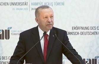 Erdoğan'dan Libya için sükunet çağrısı
