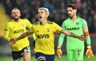 Fenerbahçe, deplasmanda Gaziantep'i yendi