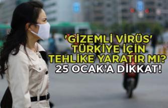 'Gizemli virüs' Türkiye için tehlike yaratır mı?