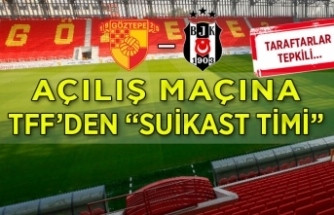 """Göztepe-Beşiktaş maçına """"Suikast timi!"""""""