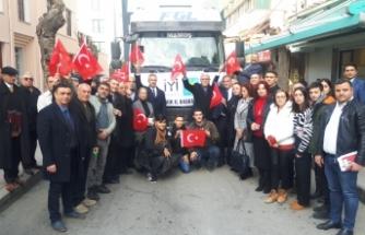 İYİ Parti İzmir'den Elazığ'a yardım eli